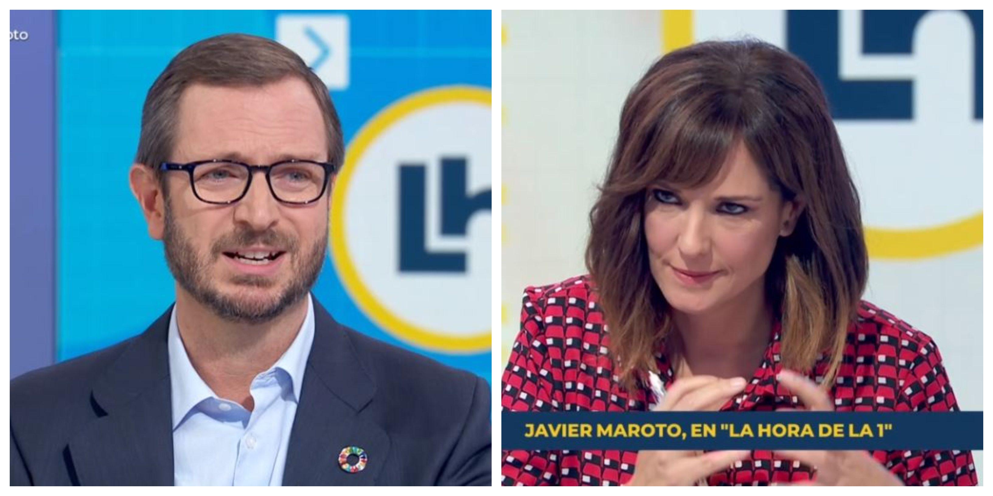 La pregunta envenenada de 'Isobaras' López a Maroto (PP) que acaba arrojándola al precipicio del fracaso