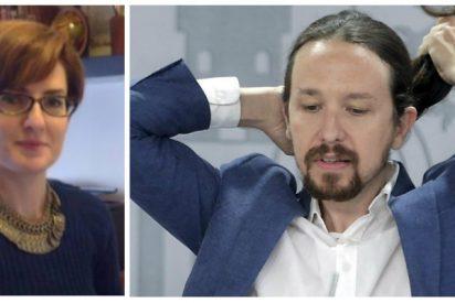 Mónica Carmona, abogada purgada de Podemos, va a sacar un montón de dinero a Pablo Iglesias