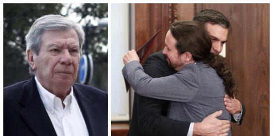 """José Luis Corcuera: """"Rubalcaba se quedó corto cuando definió como 'Frankenstein' al Gobierno Sánchez"""""""