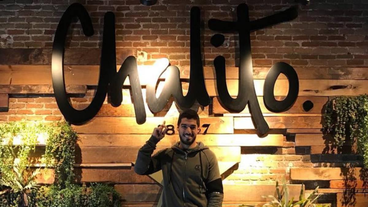 Denuncian un robo en 'Chalito', el restaurante de Luis Suárez en el centro de Barcelona