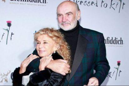 """La esposa de Sean Connery revela que el actor padecía demencia: """"Simplemente escapó"""""""