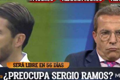 ¿Sergio Ramos al Barcelona?: La noticia de Cristóbal Soria que sorprendió en 'El Chiringuito'
