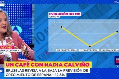 """Calviño, en sus trece: """"España tiene una base muy sólida para la recuperación económica"""""""