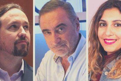 """Herrera: """"¿Quieren que los medios seamos como el basurero que Iglesias le ha montado a Dina Bousselham?"""""""