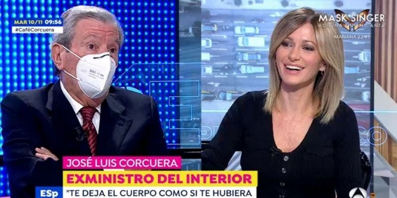 Corcuera regresa a Antena3 después del amago de infarto pero no suaviza sus ataques al Gobierno