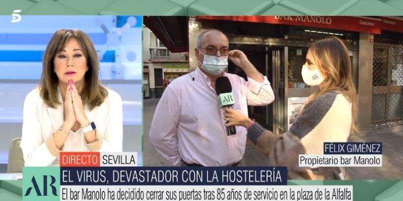 """El grito del dueño del Bar Manolo, un hostelero condenado al cierre: """"Al Gobierno le debería dar vergüenza"""""""