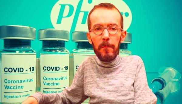 """Twitter vacuna a 'Echeminga' por usar a Pfizer para atacar a VOX: """"Cada día eres más tonto y descarado"""""""