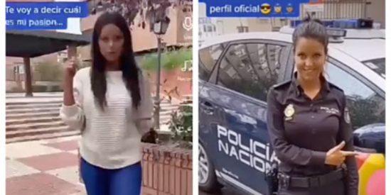 La Policía Nacional crea un canal en TikTok para sintonizar con la marcha de la 'juventud'