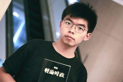 China condena al activista hongkonés Joshua Wong por exigir libertad
