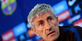 Quique Setién rompe el 'pacto de silencio' con el Barça y carga contra Lionel Messi