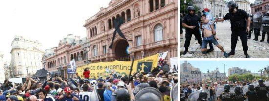 """'The New York Times': """"El adiós a Maradona nos revela la verdadera cara de la Argentina"""""""