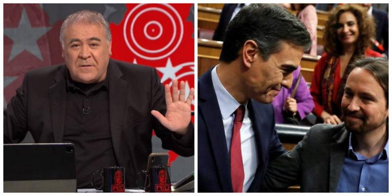 Hasta Ferreras, luz y guía del Gobierno PSOE-Podemos, alerta sobre la maldad del Ministerio de la Verdad