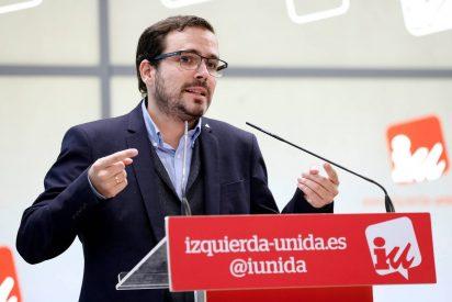 Alberto Garzón tiene la caradura de recurrir a la Constitución para defender el cupo vasco y el zasca es soberano