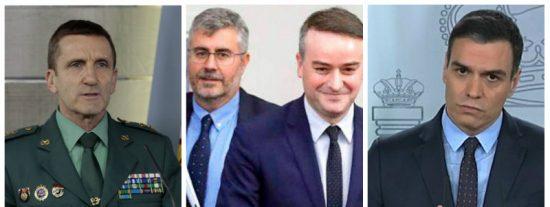 El 'lapsus' del Jefe del Estado Mayor de la Guardia Civil anticipó el 'Ministerio de la Verdad' de Sánchez