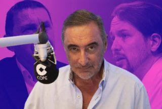 """Carlos Herrera desvela el precio que han pagado Sánchez e Iglesias por su """"nauseabundo"""" pacto con Bildu"""