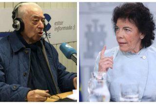 """Tico Medina reprueba a Isabel Celaá: """"Vieja bruja que envenena por la espalda a esa niña llamada España"""""""