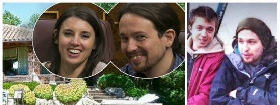Del 15-M al alto standing: imitando a Iglesias, los capos de Podemos se compran pisos y mansiones