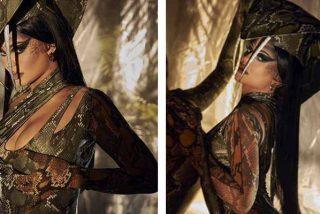 La menor de las Kardashian se viste de cobra y su 'veneno' se apodera de las redes