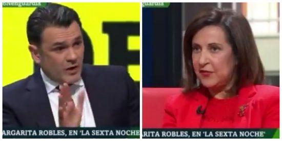El diabólico argumento de Margarita Robles para defender el pacto del PSOE con los proetarras de Bildu
