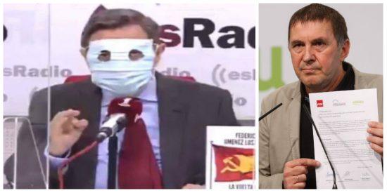 """Losantos: """"El PSOE ha entregado, a través de Cintora, TVE a los comunistas para servir a ETA"""""""