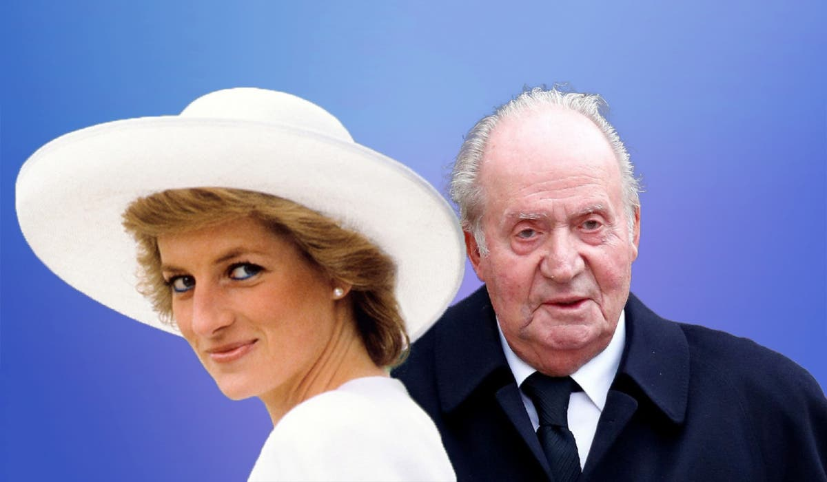El 'cariñoso' regalo del Rey Juan Carlos a Lady Di: 45.000 euros