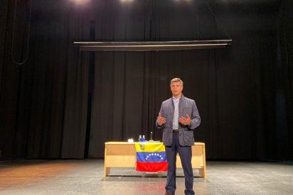 """Leopoldo López a la diáspora venezolana en Madrid: """"Que no nos diga nadie que dejemos de luchar"""""""