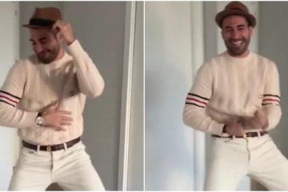 El extravagante baile de Miguel Ángel Silvestre para comenzar la semana, un abuso para la humanidad