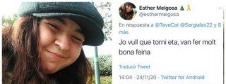 """Una dirigente de las juventudes de la ERC de Rufián reclama la vuelta de ETA: """"Hizo muy buen trabajo"""""""