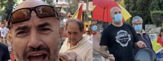 Vandalizan el bar del hombre para el que Pablo Iglesias exige 14 años de cárcel por protestar ante su mansión
