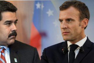 El régimen chavista ataca a Emmanuel Macron por difundir una emotiva carta de despedida a Maradona