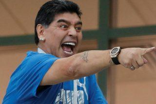 La gigantesca herencia de Maradona parece un mercadillo internacional