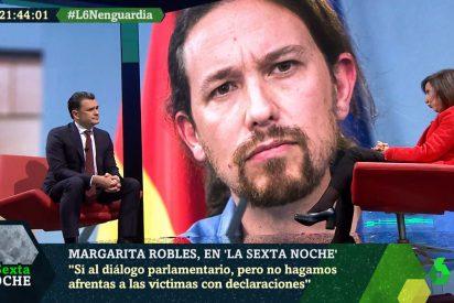 El subconsciente traiciona a Margarita Robles: llama 'presidente' a Pablo Iglesias