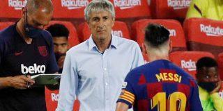 """Desvelan la tremenda bronca que tuvo Messi con Setién: """"Si no te gusta lo que digo, ahí tienes la puerta"""""""