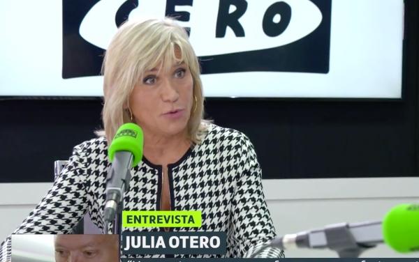"""Julia Otero, que exigió dimisiones al PP en la crisis del ébola, defiende a Sánchez: """"Intenta hacer lo mejor"""""""