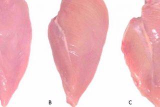 Pollo con rayas blancas: por qué debes huir de él cuando lo veas en el súper