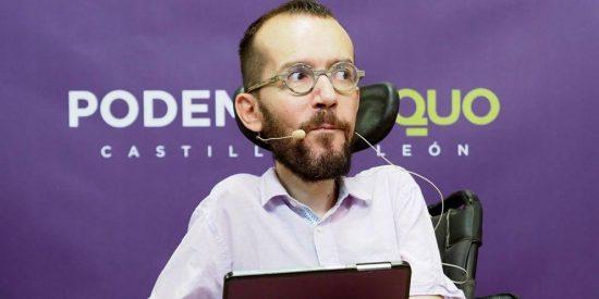 La descarada manipulación de Echenique: atribuye la crisis del 2008 al PP, cuando gobernaba Zapatero