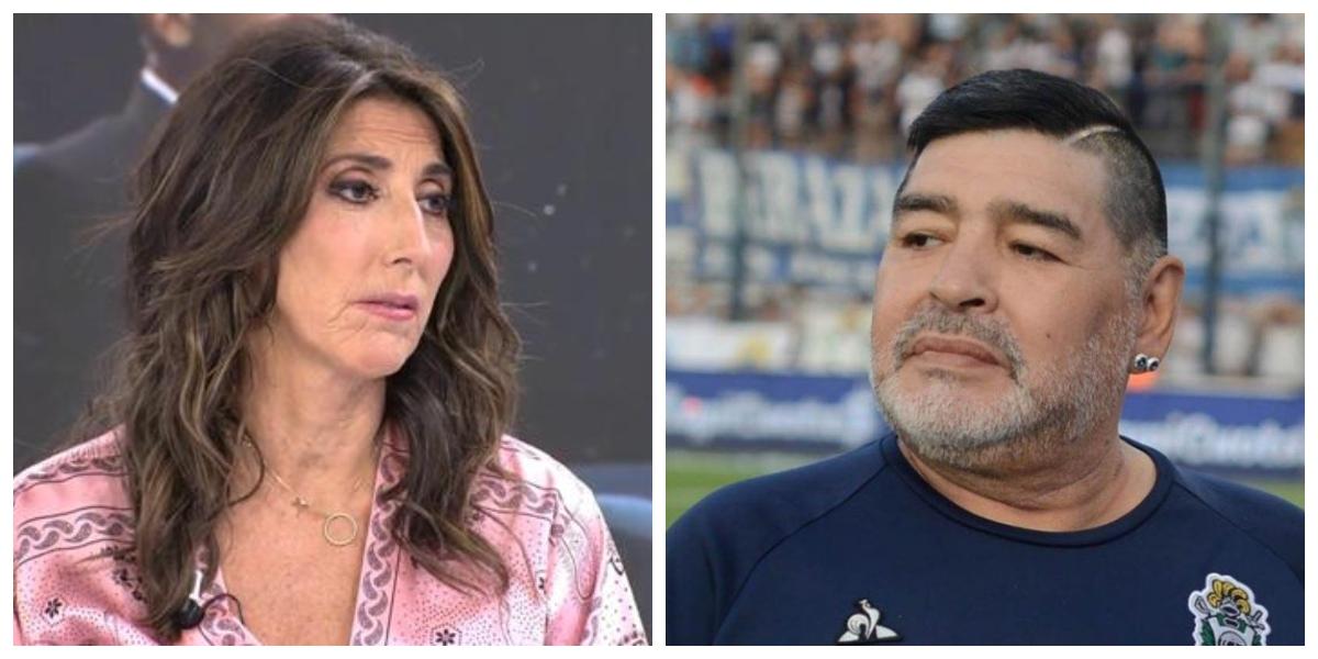 Paz Padilla redefine lo que es el ridículo informando de la muerte de Maradona: confusiones, burlas y ataques
