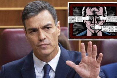 Golpe de mano de Seguridad Nacional a Sánchez: le prohíbe controlar los medios con su 'Ministerio de la verdad'