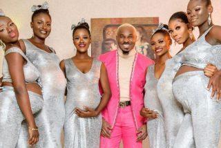 El tipo se presenta en la boda de unos amigos con las 6 madres embarazadas de sus futuros hijos