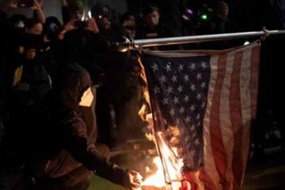 Arrestan a decenas de furibundos en Nueva York que protestaban contra Trump