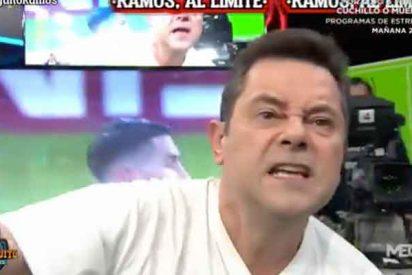 """Roncero, al borde de las lágrimas por Ramos: """"Florentino no puede cometer el mismo error que con CR7"""""""