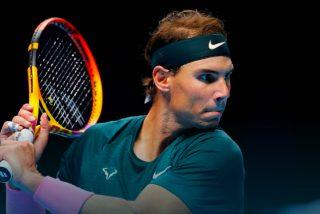 Nadal asusta a Rublev y se prepara para un duelo a palos con Thiem en las ATP Finals