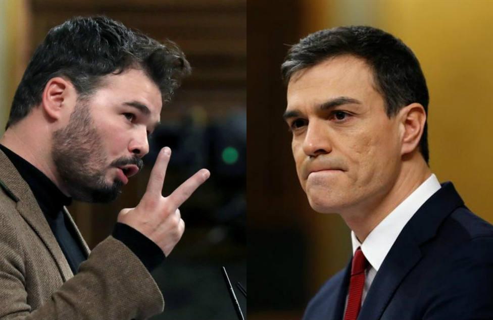 El abrazo fiscal entre Sánchez y Rufián costará 2.000 euros más en impuestos a cada hogar de Madrid