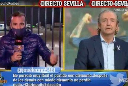 Pedrerol 'trolea' a su propio reportero por entrevistar dos veces al padre de Sergio Ramos