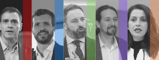 La suma de PP, VOX y C's saca más de siete puntos a la coalición PSOE-Podemos
