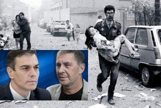 PSOE-ETA: 5 votos manchados de sangre valen para Sánchez más que 856 españoles asesinados