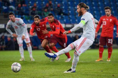 Memes: a Sergio Ramos le cae la del pulpo en redes, tras fallar dos penaltis contra Suiza