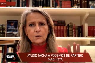 """El Minuto de Oro de Isabel San Sebastián: """"Podemos es un partido de criminales"""""""