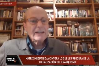 """La magistral lección de historia de García Serrano a Cintora: """"Fue el PSOE el que se cargó la República"""""""