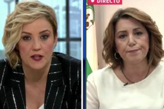 El Quilombo / Troleo a Susana Díaz en laSexta: iba de sultana y se ha quedado en odalisca del harén de Sánchez